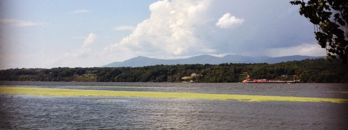 View of the Catskills from Cheviot Landing in Germantown