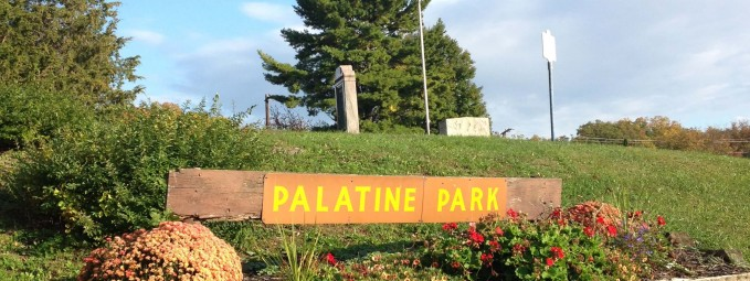 Entrance to Palatine Park in Germantown
